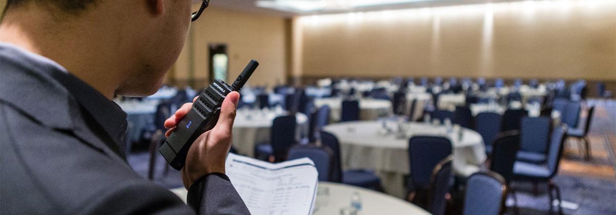 Na Ideal Rádios você pode alugar rádios para eventos