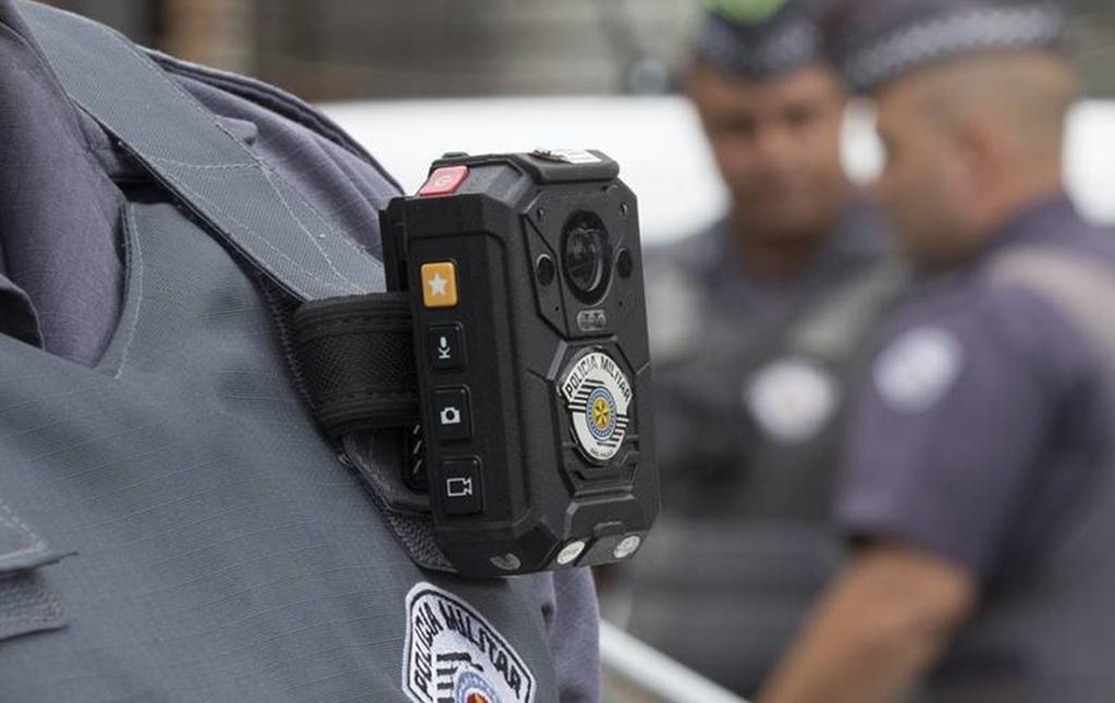 Câmera corporal Hytera BodyCam VM686